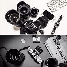 Digital morning vs. Analog morning #photography #digitalphotography #filmphotography #analogphotography #photogear