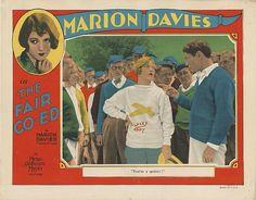 Lobby Card from film The Fair Co-Ed