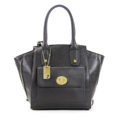 Robert Matthew Gigi Tote ($52) ❤ liked on Polyvore featuring bags, handbags, tote bags, black, black purse, crossbody purse, leather purse, handbags totes and leather crossbody purse
