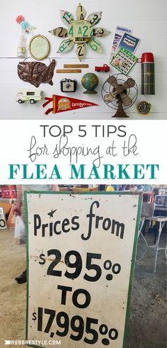 Top 5 Tips for Flea Market Shopping