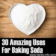 30 uses for baking soda