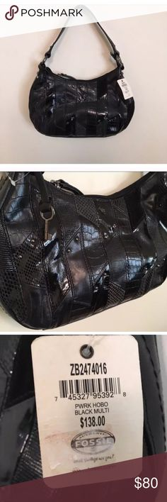 Brand new Fossil Hobo Bag NWT Brand new Fossil Hobo Bag.  $130 value Fossil Bags