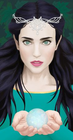 Luthien and the Silmaril by rachels89 on deviantART