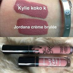 Dupe for #KylieLipgloss #KylieLip #Jordana #MakeupDupes #LipGloss #Makeup #KylieJenner #KylieLipKit