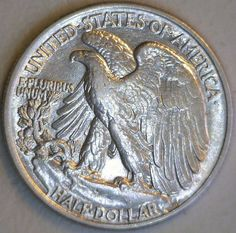 1944-P Fall-Over Beautiful Choice Walking Liberty AU 90% Silver Beautiful Coin…