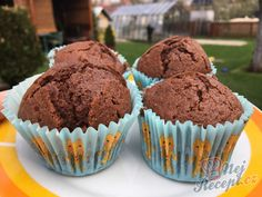 Muffins, Cheesecake, Food And Drink, Cupcakes, Breakfast, Sweet, Recipes, Ring Cake, Thermomix