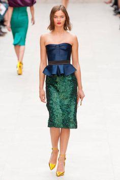 Structured Skirts Runway Fashion Week Spring 2013 - Spring 2013 Fashion Trends - ELLE