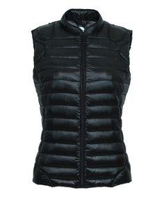 Love this Noir Nougat Down Puffer Vest on #zulily! #zulilyfinds
