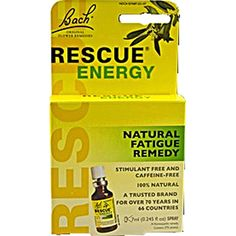 Bach Flower Remedies Rescue Energy - 0.245 fl oz by Bach Bach Flower Remedies Rescue Energy Description: Natural Fatigue Remedy Stimulant Free and Caffeine Free