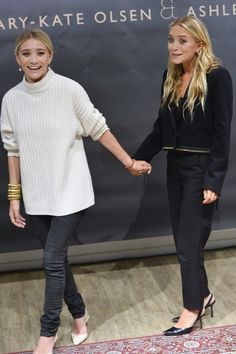 #oversized #fashion #olsentwins