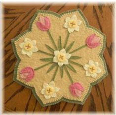 Welcome Spring with this quick and easy quilt pattern. Spring Blossoms Candle Mat Pattern PLP-171 by Penny Lane Primitives - Kathryn Hecker. Check out our seasonal patterns. https://www.pinterest.com/quiltwomancom/seasonal-patterns/ Subscribe to our mailing list for updates on new patterns and sales! http://visitor.constantcontact.com/manage/optin?v=001nInsvTYVCuDEFMt6NnF5AZm5OdNtzij2ua4k-qgFIzX6B22GyGeBWSrTG2Of_W0RDlB-QaVpNqTrhbz9y39jbLrD2dlEPkoHf_P3E6E5nBNVQNAEUs-xVA%3D%3D