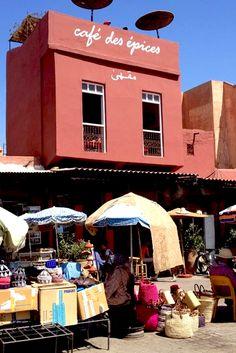 Marrakech Travel Guide // Where to Eat // Café Des Épices