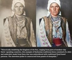 100-Year-Old Colour Portraits Of New York Immigrants Reveal Incredible National Outfits - History Daily #history