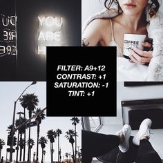 Most Popular Vsco Filter White Instagram Theme, Instagram Themes Vsco, Black And White Instagram, Feeds Instagram, Photo Instagram, White Feed Instagram, Instagram Themes Ideas, Instagram Editor, Vsco Feed