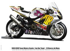 Suzuki GSXR 1000 2008 Joe Bar Team | Motos Suzuki GSX-R
