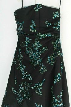 Stylish Dresses, Dresses For Sale, Prom Dresses, Black Satin, Ball Gowns, Sequins, Clothes For Women, Party, Shopping