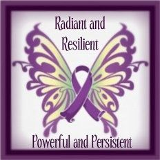 """Any survivor of any-thing needs to stand proud, radiant, resilient, powerful and persistent. In that process we become """"thrivers"""" and that goes waaaaay beyond surviving."""