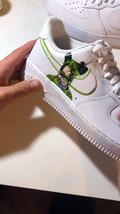 billie eilish shoes nike Billie Eilish Billie Eilish Cam Createz camcreatez Customs Custom painted Air Force Ones by myself Cam Createz. Up on camcreatez in[] aesthetic videos Custom Vans Shoes, Custom Painted Shoes, Painted Vans, Painted Sneakers, Hand Painted Shoes, Custom Sneakers, Tenis Nike Air, Nike Af1, Souliers Nike