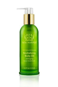 Tata Harper Revitalizing Body Oil. We love it, we want to marry it. Seriously, best stuff ever.