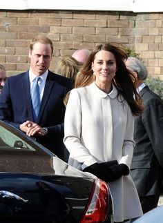Kate Middleton Photo - The Royal Couple Visits a UK Charity