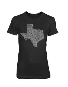 Texas Towns - Women's (5 Color Options) – Tumbleweed TexStyles