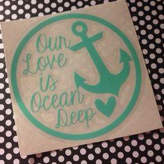 US Navy Love Wife Girlfriend Milso Car Laptop by GrayceInspired, $4.00