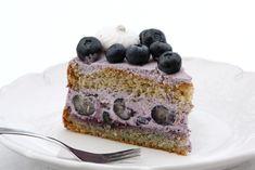 Čučoriedková torta s mascarpone (zdroj: Naničmama. Dessert Recipes, Desserts, Cheesecake, Food, Mascarpone, Meal, Deserts, Cheesecakes, Essen
