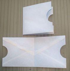 ENVELOPE POCKETS - Tutorial on an Envelope