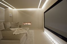 Knightsbridge Home Cinema - Lawson Robb www.lawsonrobb.com Interior Architecture . Design . Yachts