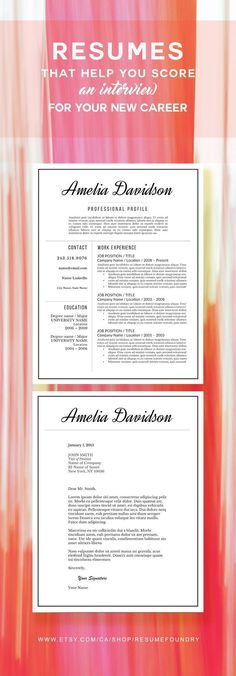 Simply put, a resume is a one- to two-page document that sums up a job seeker's qualifications for the jobs they're interested in. More than just a formal job application, a resume is a… College Resume Template, Modern Resume Template, Resume Templates, Cv Template, Resume Help, Resume Tips, Resume Examples, Resume Ideas, Cv Tips