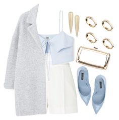 """""""1316."""" by asoul4 ❤ liked on Polyvore featuring Noir Jewelry, Elie Saab, Dolce&Gabbana, MANGO, Roger Vivier and ASOS"""