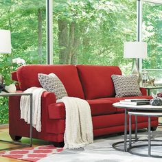 La-Z-Boy's living room sofas, couches, and sofa sets complete your living room; Boys Furniture, Family Room Furniture, Garden Furniture, Living Room Sofa, Home Living Room, Living Spaces, Floor Protectors For Chairs, Cheap Chairs, Couch Set