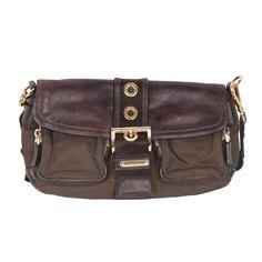 de636a6b02dc Prada Crossbody Bag   Messenger Bag - Tessuto Canvas   Leather Buckle  Leather