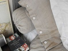Orkney natural bolster and sham