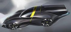 Ferrari Vision daytona on Behance