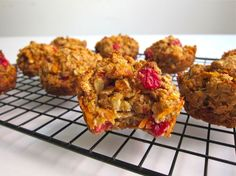 Cran-Apple Carrot Muffins: A Soft Bite of Powerful Nutrients