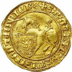During part of the Middle Ages, Scotland had a gold coin/currency called the unicorn.