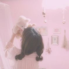 Image uploaded by Kookie. Find images and videos about pink, aesthetic and soft on We Heart It - the app to get lost in what you love. Baby Pink Aesthetic, Daddy Aesthetic, Angel Aesthetic, Aesthetic Themes, Aesthetic Anime, Aesthetic Pictures, 2560x1440 Wallpaper, Looks Pinterest, Pink Themes