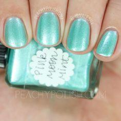 Lynnderella Pink Moon Mint | Peachy Polish