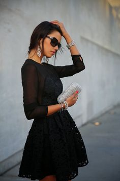 Hot Sale Women A-line Lace Embroidered Bown Gown - Lalalilo.com Shopping - The Best Deals on Women's Dresses