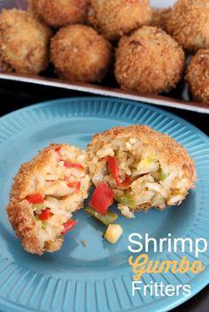 Shrimp Gumbo Fritters Recipe