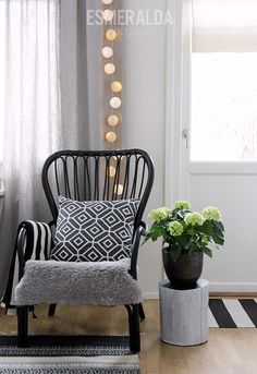 ikea storsele musta Ikea, Rich Home, Living Room Inspiration, Rattan, Accent Chairs, Dining Chairs, Relax, Lounge, House Design