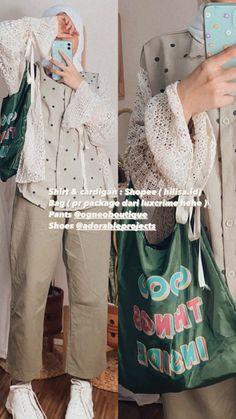 Modern Hijab Fashion, Street Hijab Fashion, Hijab Fashion Inspiration, Korean Girl Fashion, Muslim Fashion, Look Fashion, Fashion Outfits, Best Online Clothing Stores, Online Shopping Clothes
