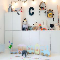 Ikea Ivar Cabinet Hacks For Kids Room Ikea Ivar Cabinet, Deco Kids, Kids Room Design, Inspiration For Kids, Room Inspiration, Kid Spaces, Kids Decor, Decor Ideas, Room Ideas