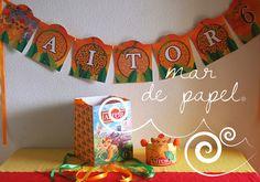 MAR DE PAPEL: Aitor y Noa: La Guardia del León y Peppa Pig