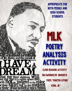 153 best martin luther king jr images on pinterest wise words students use these poetry worksheets to help analyze gwendolyn brookss poem martin luther king jr ibookread Read Online