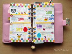 She's Eclectic: My week in my Filofax #17