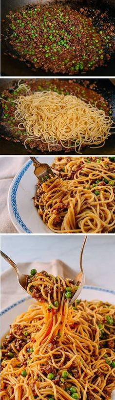 Chinese Spaghetti Bolognese recipe by the Woks of Life