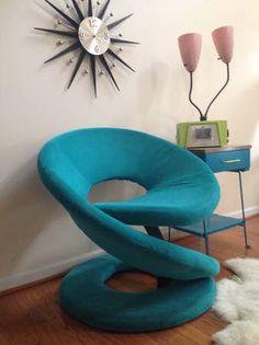 Washington DC: Retro Chair MODERN Accent $325   Http://furnishlyst.com