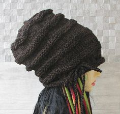 Men #Dreadlock #hat with drawstring Extra Large Men #Slouch